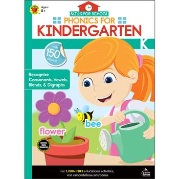 Phonics For Kindergarten Skills For School, CD-705311