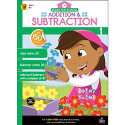 Addition & Subtraction Gr 1 Skills For School, CD-705313