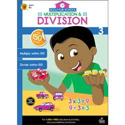 Multiplication & Division Gr 3 Skills For School, CD-705314