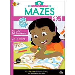 Skills For School Mazes Grades Pk-1, CD-705315