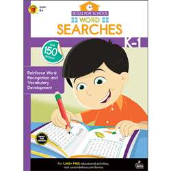 Skills For School Wrd Search Gr K-1, CD-705317