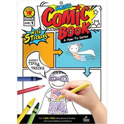 Blank Comic Book Level 1 A How-To Series, CD-705324