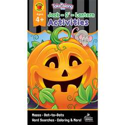 Jack-O-Lantern Activities Ages 4-5 My Take-Along T, CD-705335