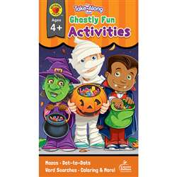 Ghostly Fun Activities Ages 4-5 My Take-Along Tabl, CD-705336