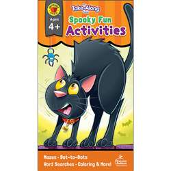Spooky Fun Activities Ages 4-5 My Take-Along Table, CD-705338