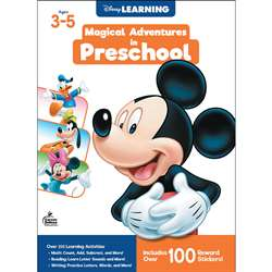 "Disney Magical Adv "" Preschool, CD-705369"