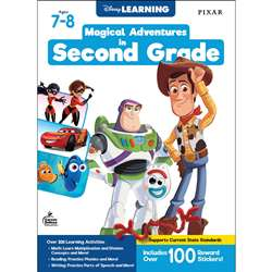 "Disney Magical Adv "" 2Nd Grade, CD-705372"
