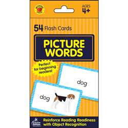 Picture Words Flash Cards, CD-734089