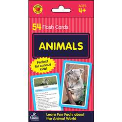 Animals Flash Cards, CD-734090