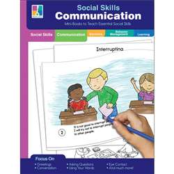 Mini-Books Communication Social Skills, CD-804113