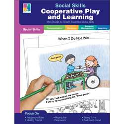 Mini-Books Co-Op Play & Learning Social Skills, CD-804114