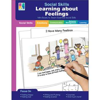 Mini-Books Learning About Feelings Social Skills, CD-804115