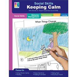 Mini-Books Keeping Calm Social Skills, CD-804116