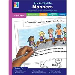 Social Skills Mini-Books Manners, CD-804117