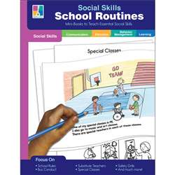 Mini-Books School Routines Social Skills, CD-804118
