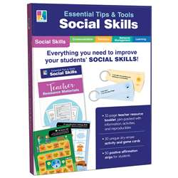 Essntial Tips & Tools Social Skills, CD-849001