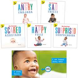 My Feelings Bilingual Board Books Set Of 5, CD-9781731613387