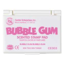 Stamp Pad Scented Bubble Gum Pink By Center Enterprises