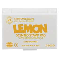 Scented Stamp Pad Lemon/Yellow By Center Enterprises