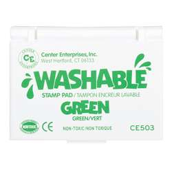 Stamp Pad Washable Green By Center Enterprises