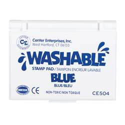 Stamp Pad Washable Blue By Center Enterprises