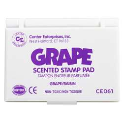 Scented Stamp Pad Grape/Purple By Center Enterprises