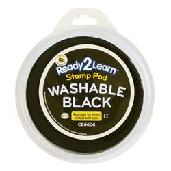 Jumbo Circular Washable Pads Black Single By Center Enterprises