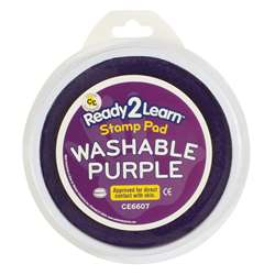 Jumbo Circular Washable Pads Purple Single By Center Enterprises