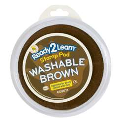 Jumbo Circular Washable Pads Brown Single By Center Enterprises