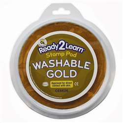 Jumbo Circular Washable Pads Gold By Center Enterprises
