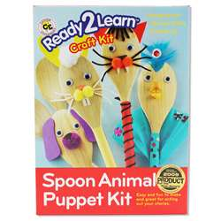 Ready2Learn Craft Kit Spoon Animals By Center Enterprises