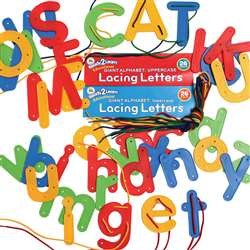 Ready2Learn Lacing Letters Set Of Both By Center Enterprises