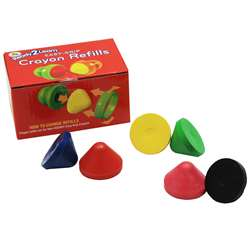 Ready2Learn Easy Grip Crayon Refills, CE-6912
