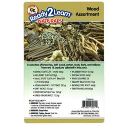 Natural Assortments: Wood, CE-6942