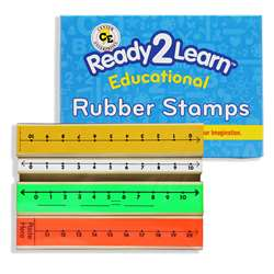 Stamp Set Number Line 3/Pk Numbers 1-10 & 1-20 By Center Enterprises