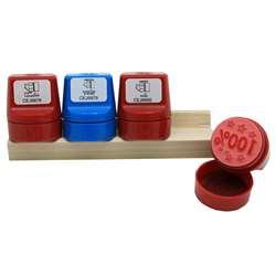 Jumbo Stampers Take Note Set 4/Pk W/ Desk Caddy By Center Enterprises