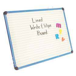 Magnetic Lined Dry Erase Board By Copernicus Educational