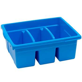 Leveled Reading Blue Large Divided Book Tub, CEPCC4069B