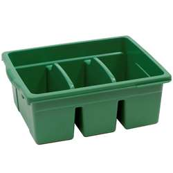 Leveled Reading Green Large Divided Book Tub, CEPCC4069G