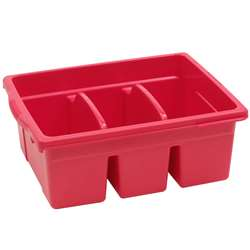Leveled Reading Red Large Divided Book Tub, CEPCC4069R