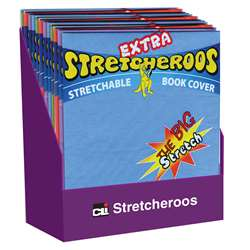 Bookcovers Stretcheroos 36St Assorted Colors, CHL34516ST