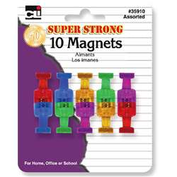 Super Strong Magnets 10 Pack, CHL35910