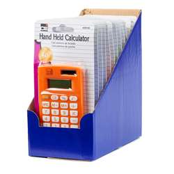 Handheld Calculator 8 Digit assorted colors -12 Pack