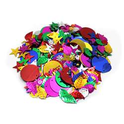 Glittering Sequins W Spangles 4Oz Resealable Bag, CHL40425