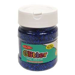 Creative Arts Glitter 4Oz Jar Blue, CHL41415