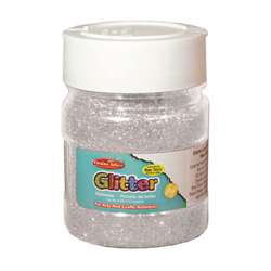 Creative Arts Glitter 4Oz Jar Slvr, CHL41445