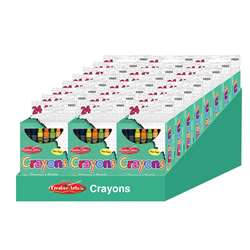 24 Boxes Of 24 Crayons Asstd Colors, CHL42024ST
