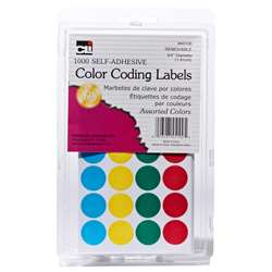Color Coding Labels Assorted, CHL45100