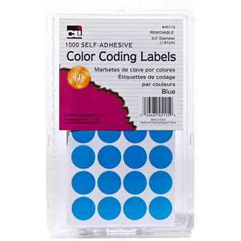 Color Coding Labels Blue, CHL45115