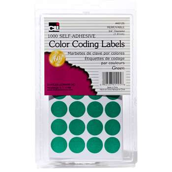 Color Coding Labels Green, CHL45125